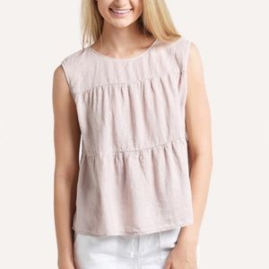 Anthropologie Velvet by Graham & Spencer Tier Top